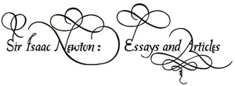 Sir Isaac Newton Essay, Sir Isaac Newton Research papers